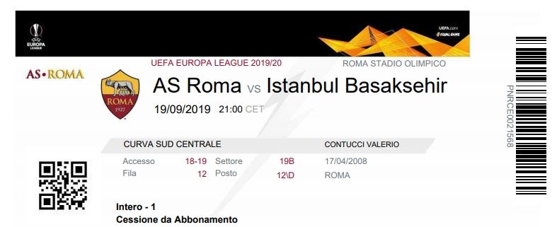 Рома (Италия) - Истанбул Башакшехир (Турция) 4:0