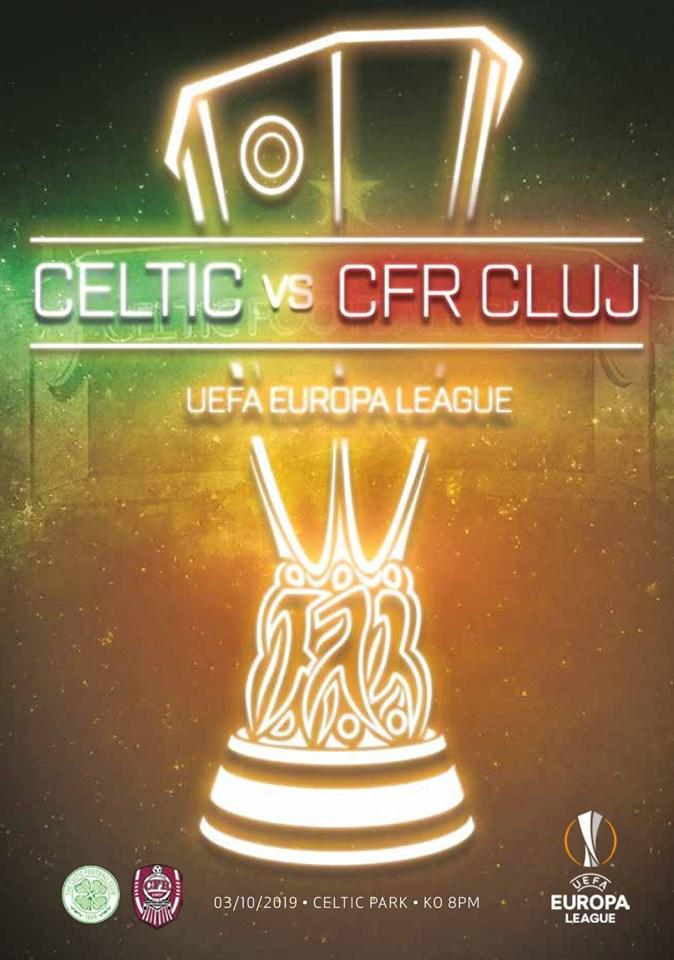 Селтик (Шотландия) - ЧФР Клуж (Румыния) 2:0