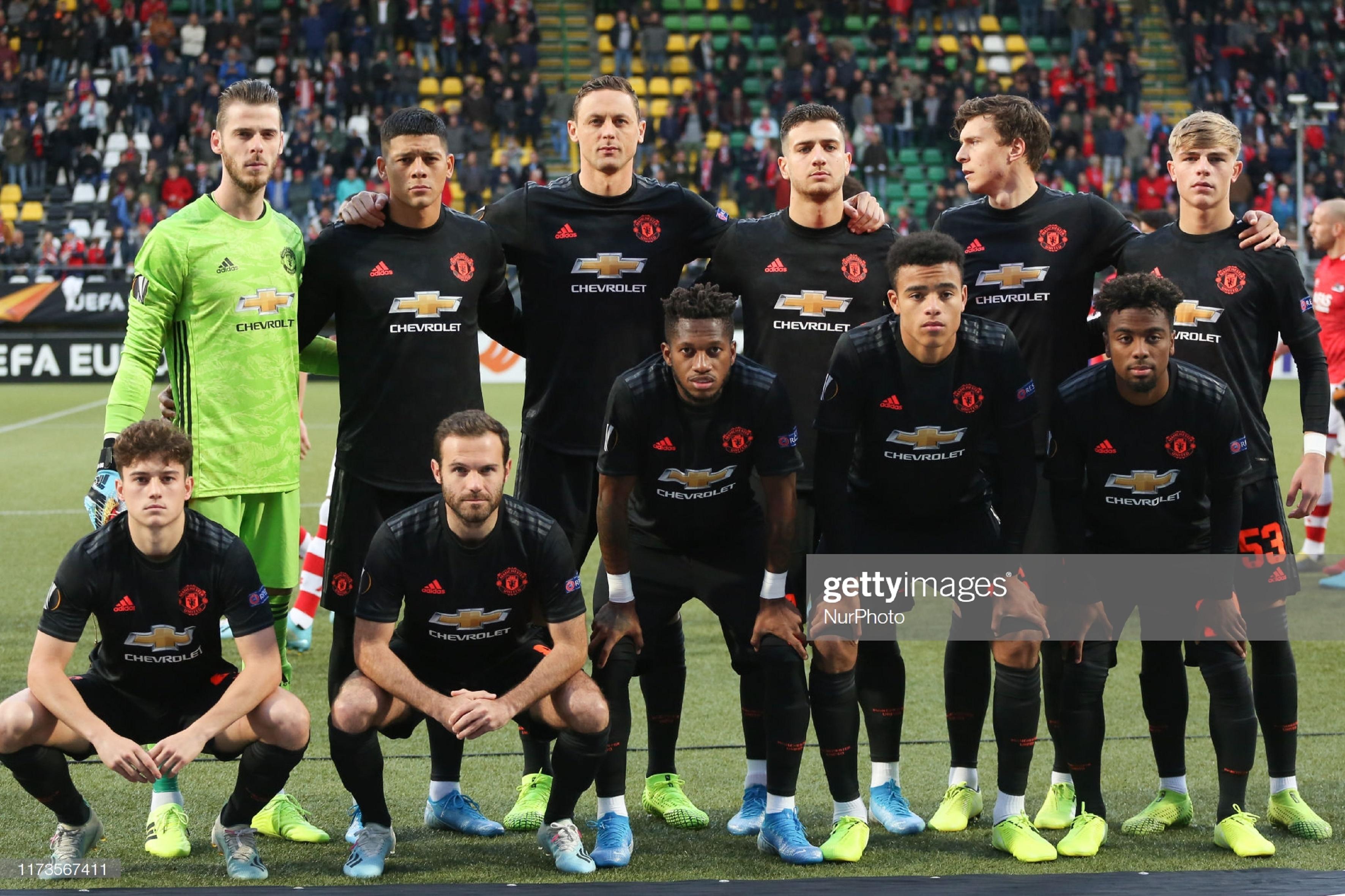 АЗ Алкмаар (Голландия) - Манчестер Юнайтед (Англия) 0:0. Нажмите, чтобы посмотреть истинный размер рисунка