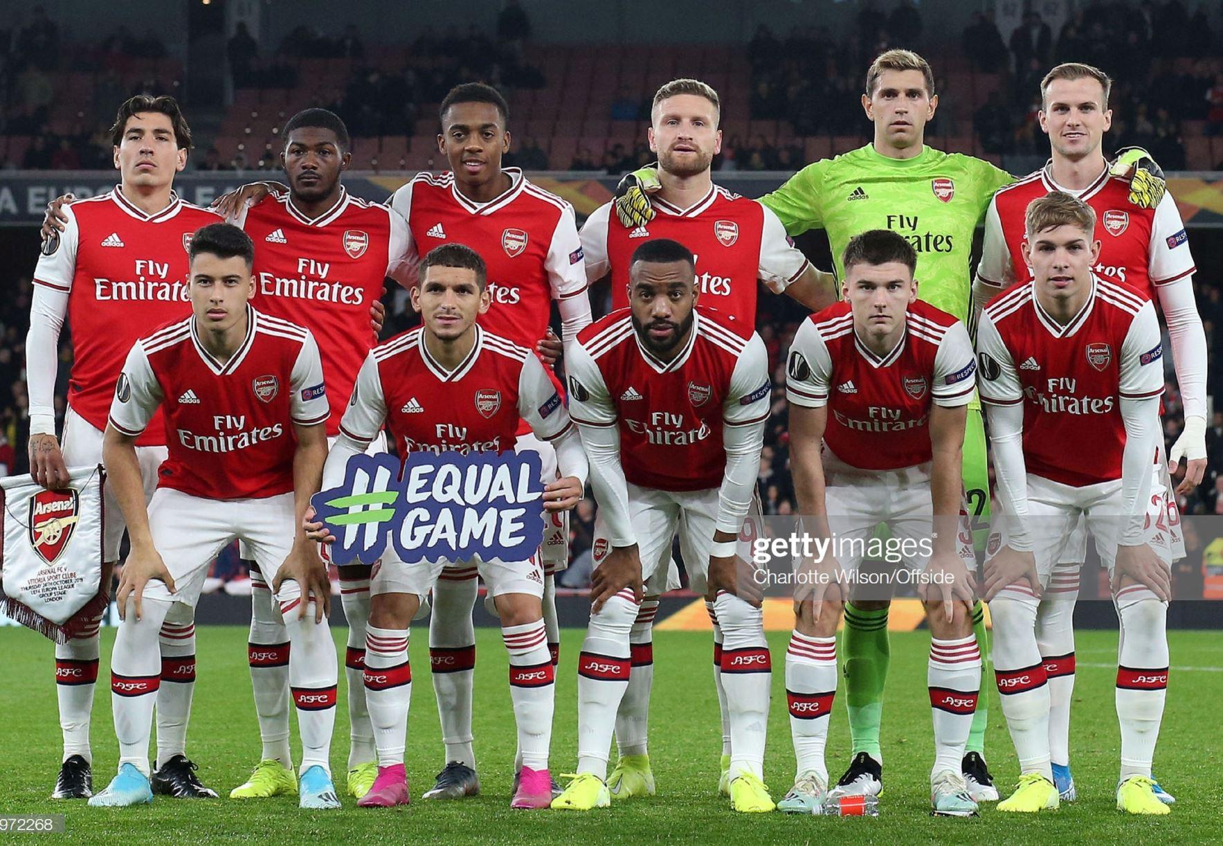 Арсенал (Англия) - Витория Гимараеш (Португалия) 3:2. Нажмите, чтобы посмотреть истинный размер рисунка