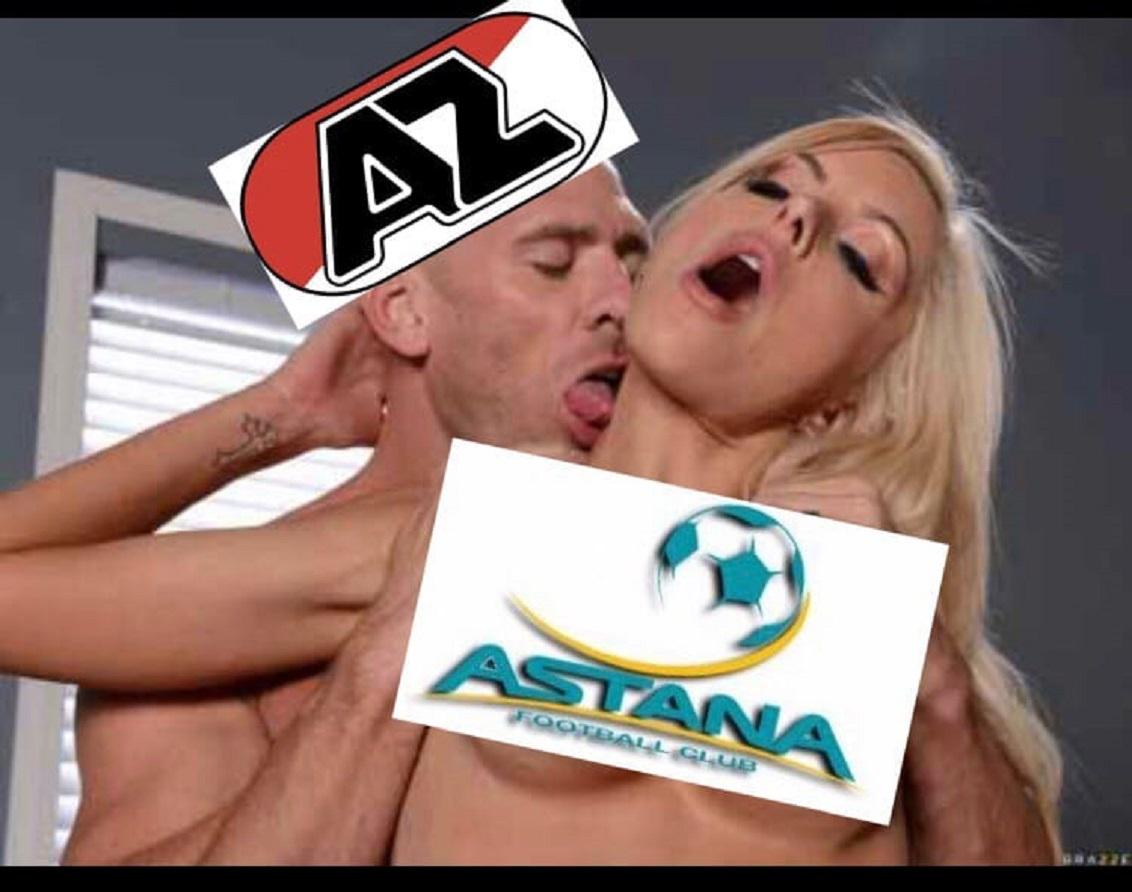 АЗ Алкмаар (Голландия) - Астана (Казахстан) 6:0. Нажмите, чтобы посмотреть истинный размер рисунка