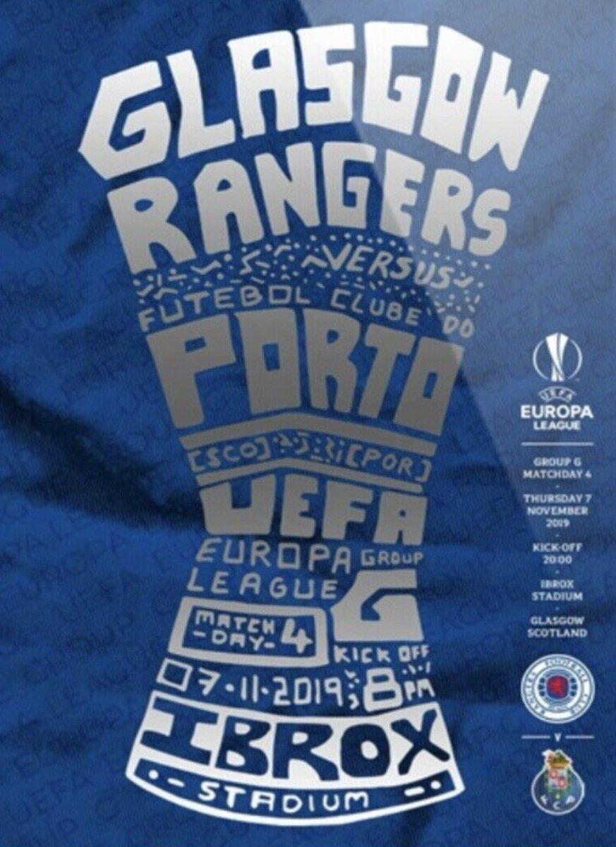 Глазго Рейнджерс (Шотландия) - Порту (Португалия) 2:0