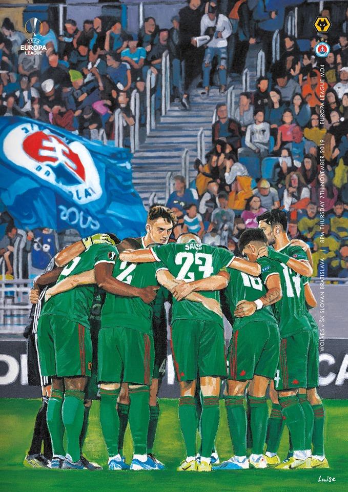 Вулверхэмптон Уондерерс (Англия) - Слован Братислава (Словакия) 1:0