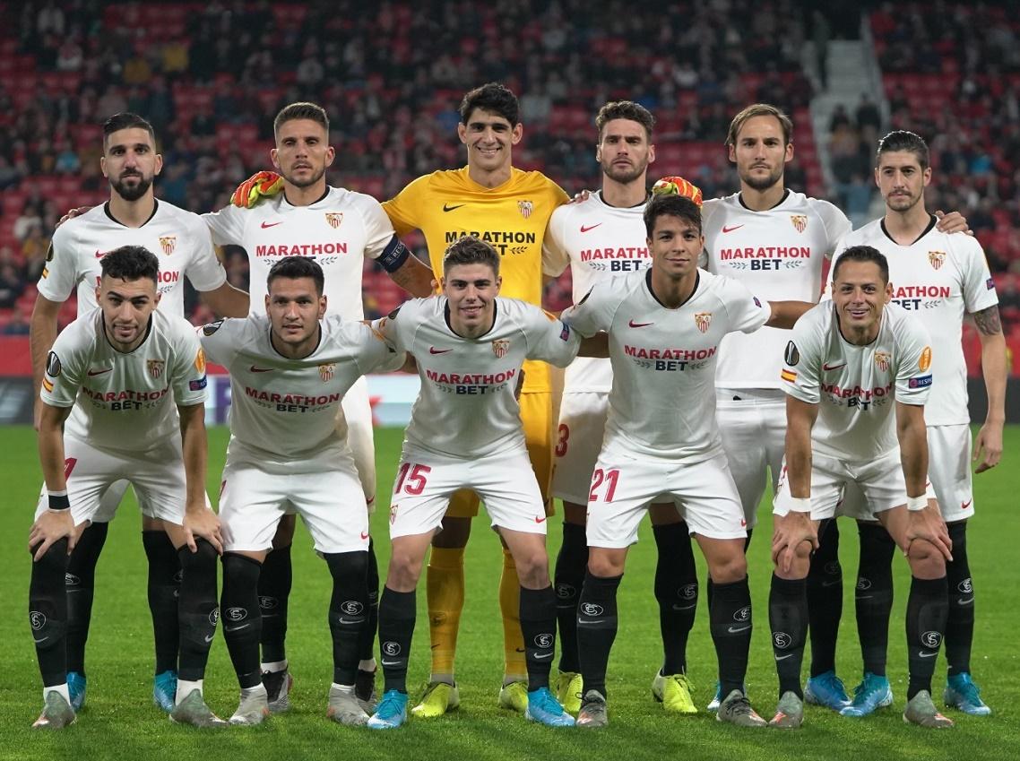 Севилья (Испания) - Карабах (Азербайджан) 2:0. Нажмите, чтобы посмотреть истинный размер рисунка