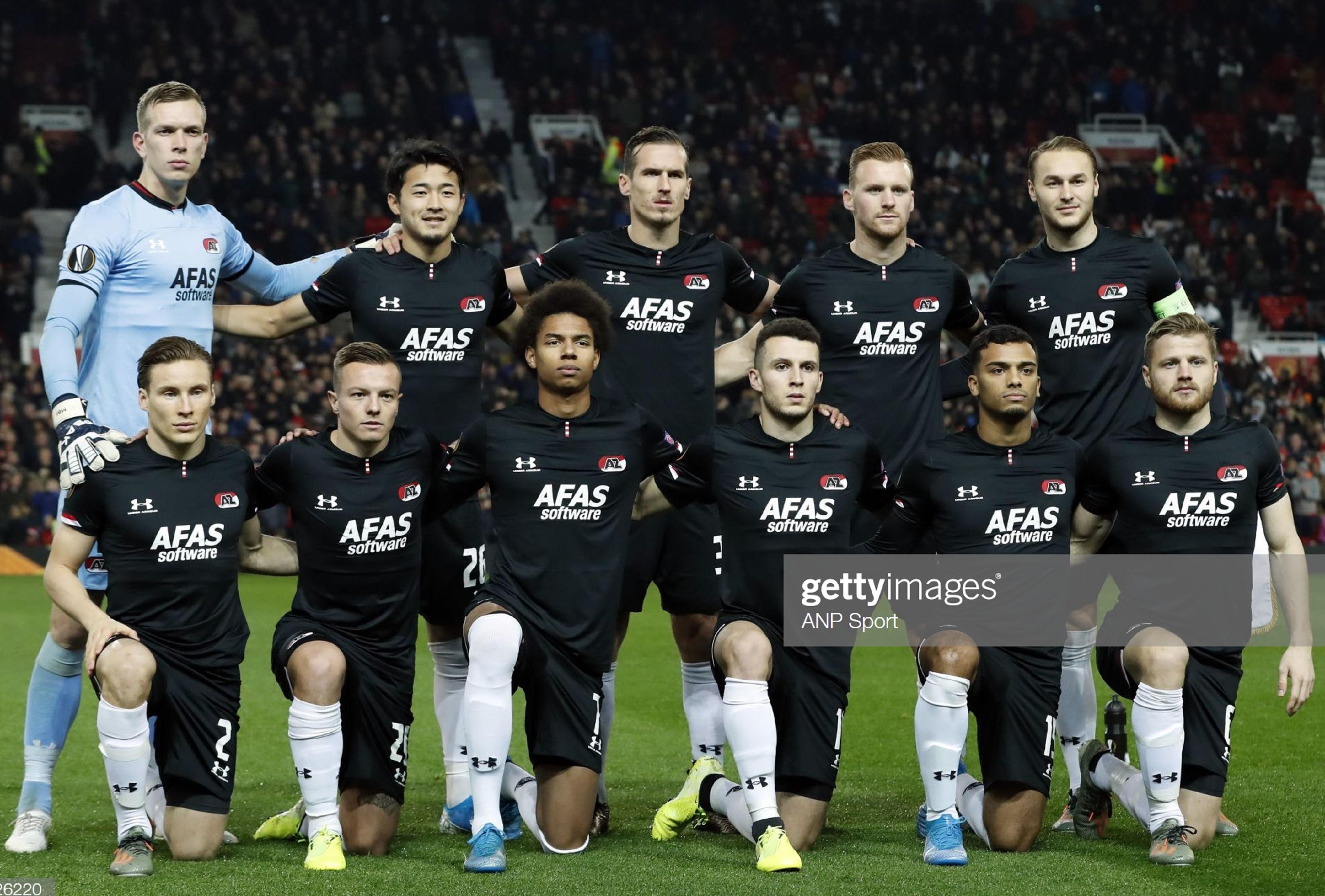 Манчестер Юнайтед (Англия) - АЗ Алкмаар (Голландия) 4:0. Нажмите, чтобы посмотреть истинный размер рисунка
