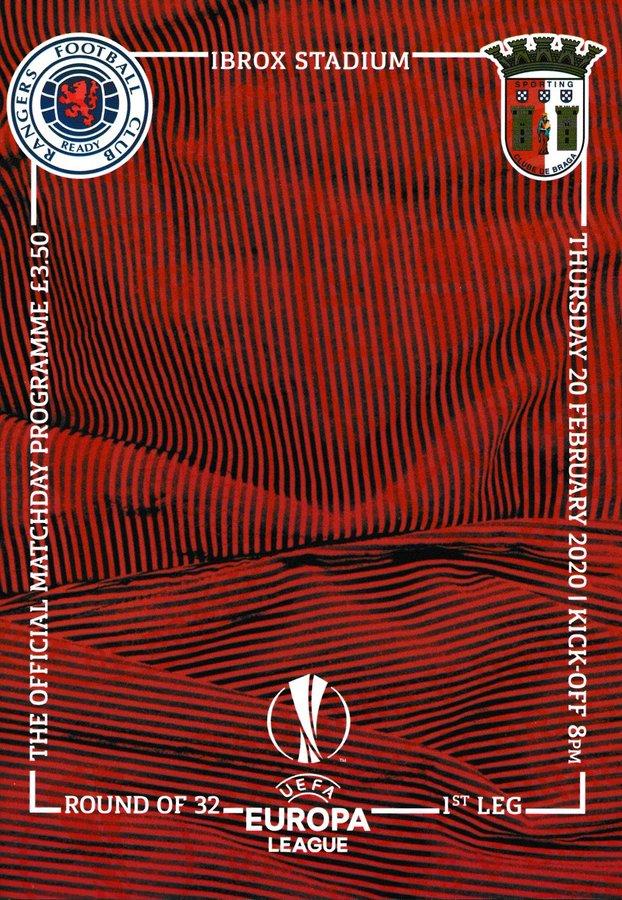 Глазго Рейнджерс (Шотландия) - Спортинг Брага (Португалия) 3:2