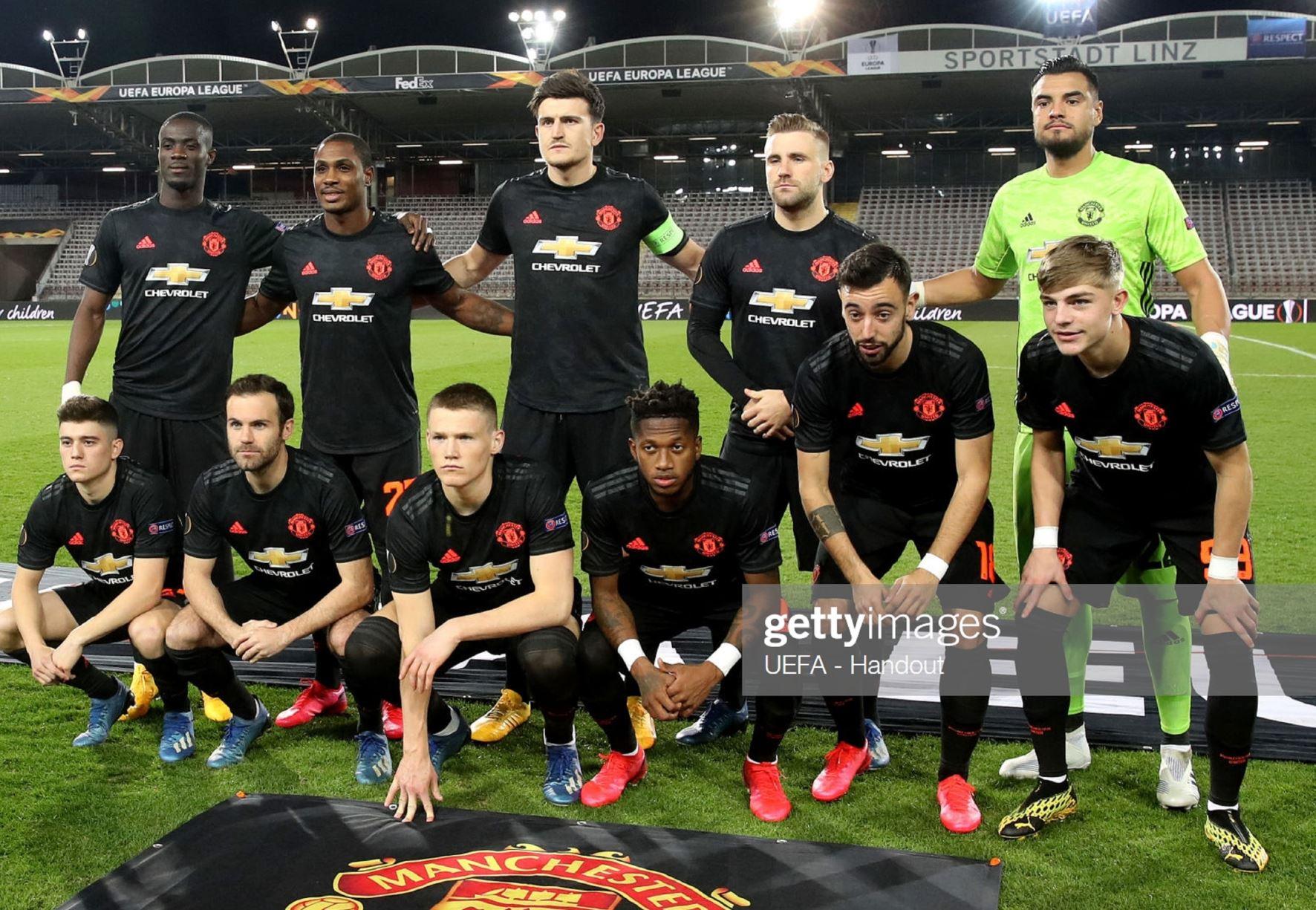 ЛАСК (Австрия) - Манчестер Юнайтед (Англия) 0:5. Нажмите, чтобы посмотреть истинный размер рисунка