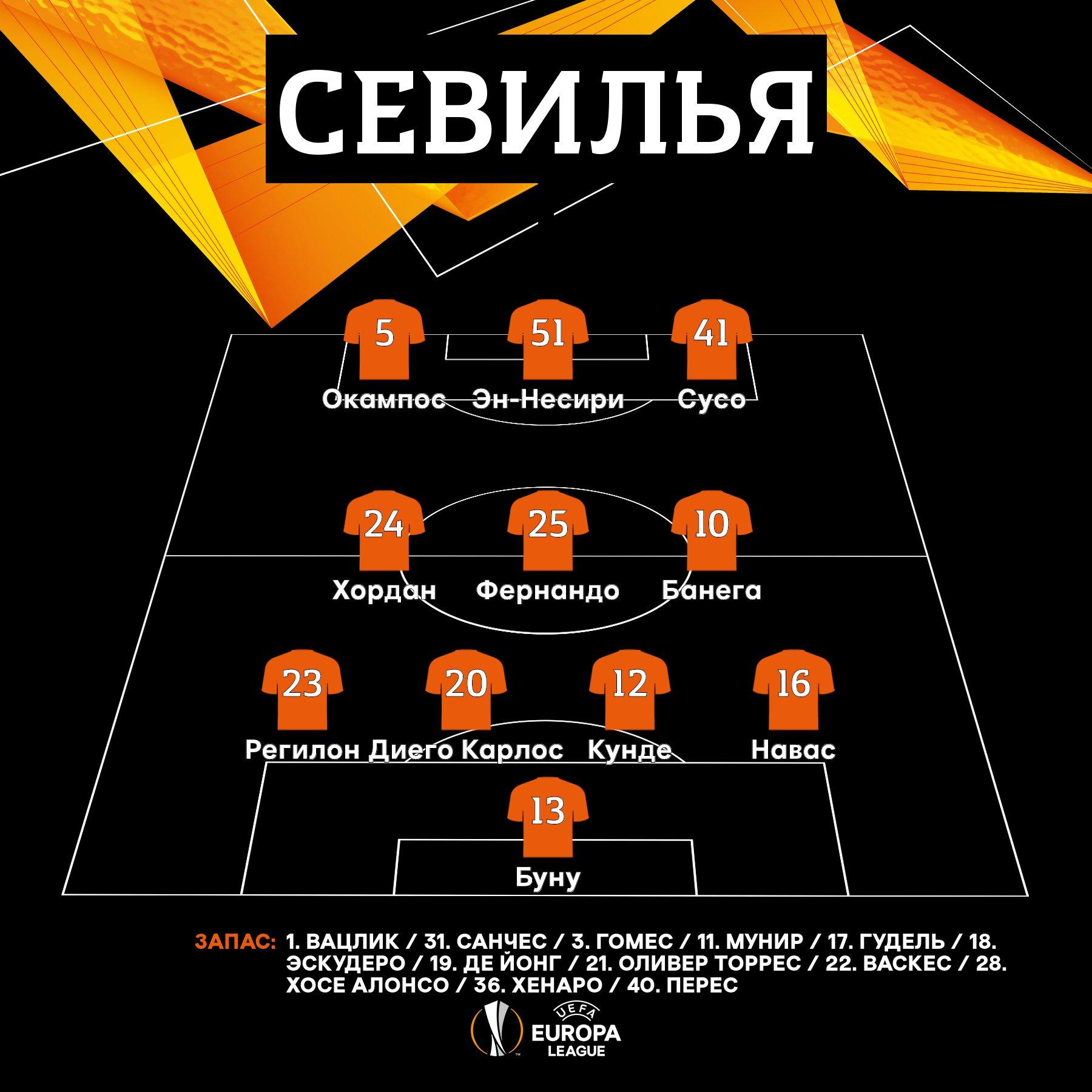 Севилья (Испания) - Манчестер Юнайтед (Англия) 2:1