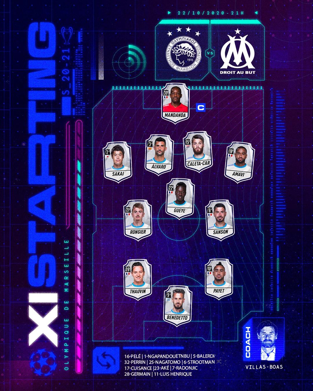 Олимпиакос (Греция) - Марсель (Франция) 1:0