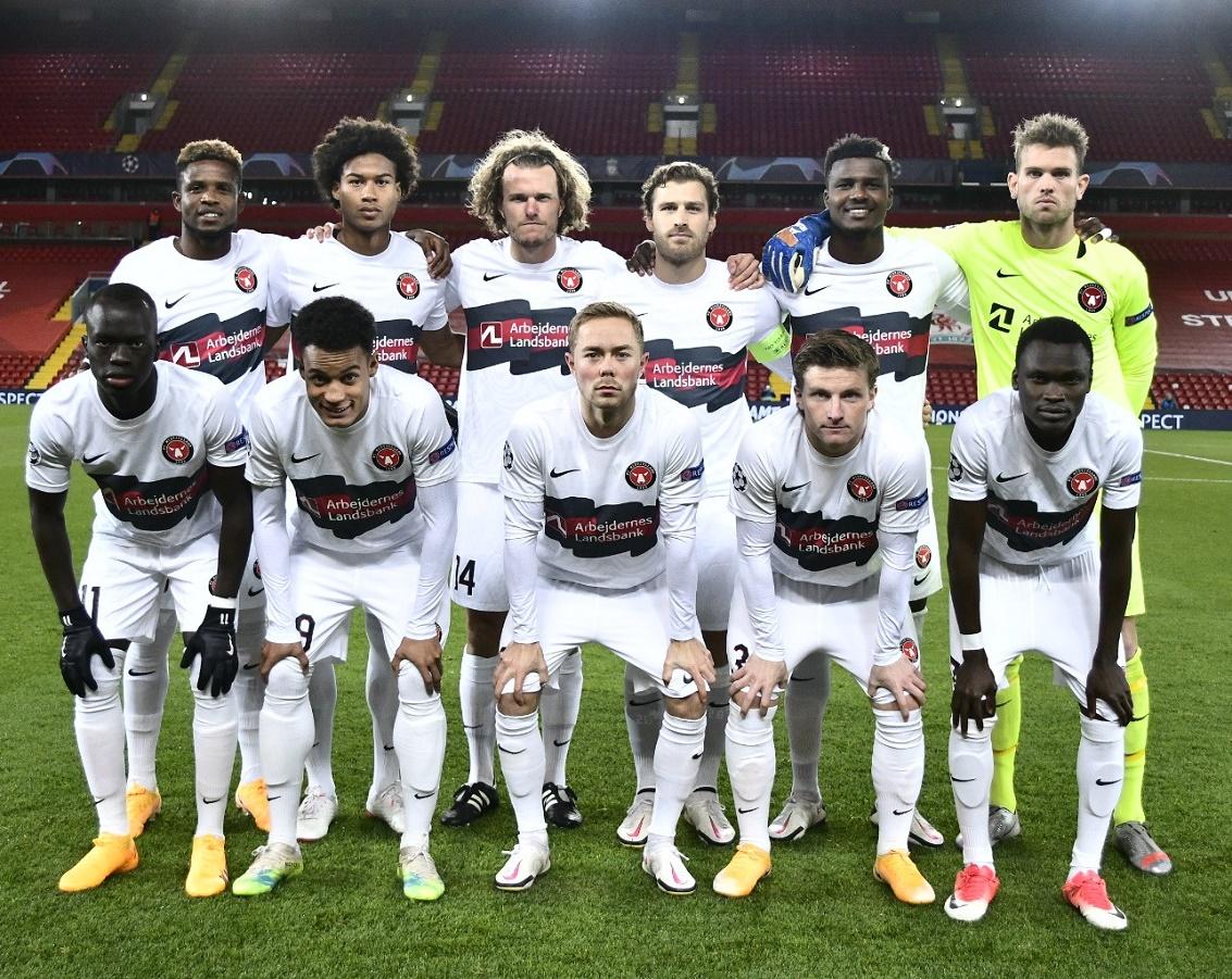 Ливерпуль (Англия) - Мидтъюлланн (Дания) 2:0