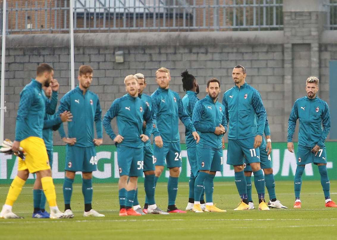Шэмрок Роверс (Ирландия) - Милан (Италия) 0:2