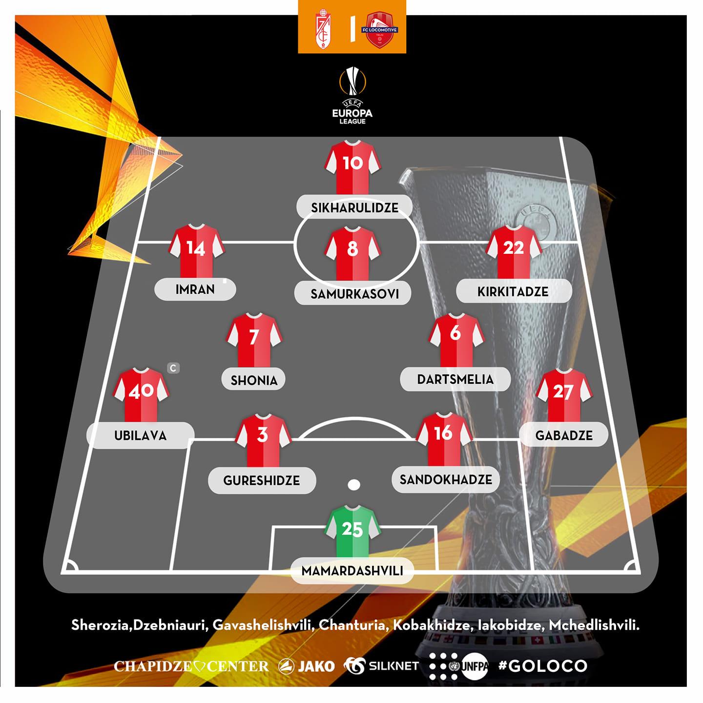 Гранада (Испания) - Локомотив Тбилиси (Грузия) 2:0