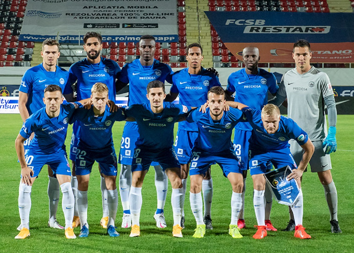 Стяуа (Румыния) - Слован Либерец (Чехия) 0:2