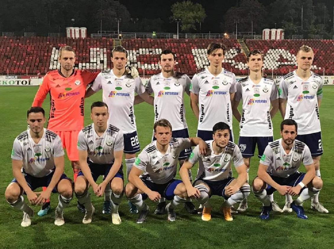 ЦСКА София (Болгария) - Б-36 (Фарерские острова) 3:1