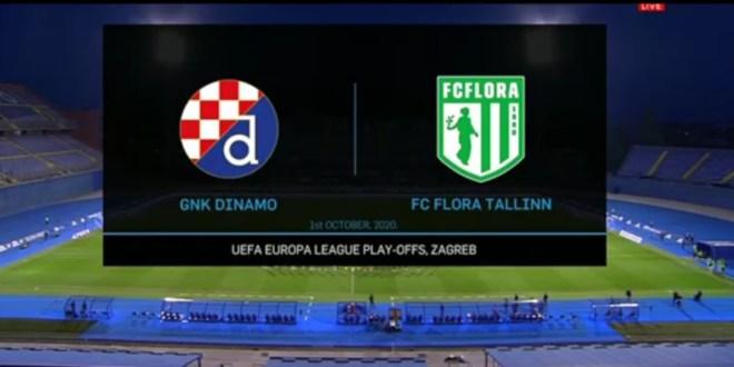 Динамо Загреб (Хорватия) - Флора (Эстония) 3:1
