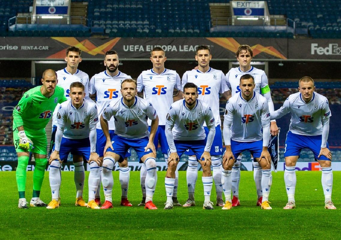 Глазго Рейнджерс (Шотландия) - Лех (Польша) 1:0