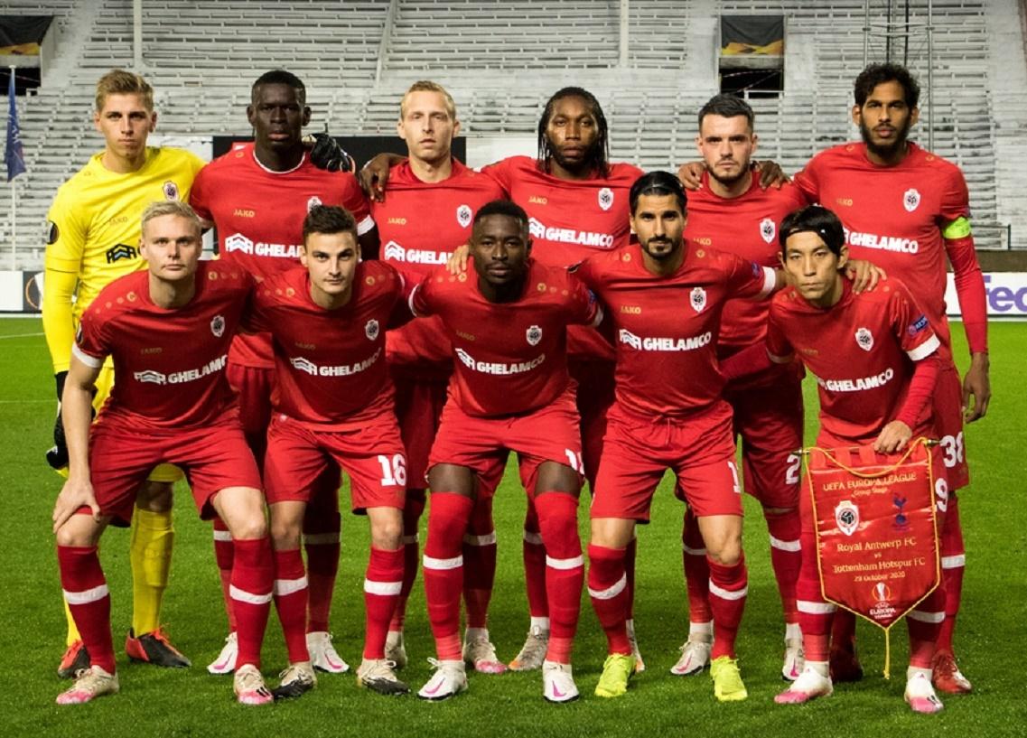 Ройял Антверпен (Бельгия) - Тоттенхэм (Англия) 1:0