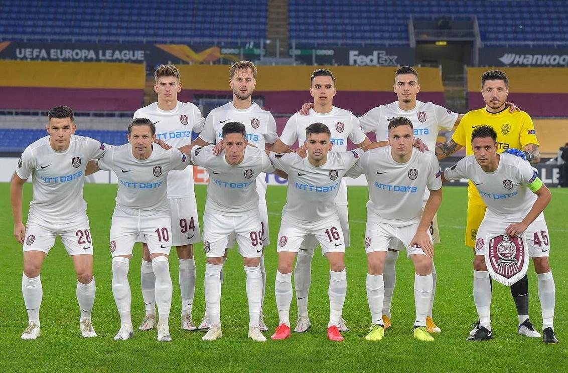 Рома (Италия) - ЧФР Клуж (Румыния) 5:0