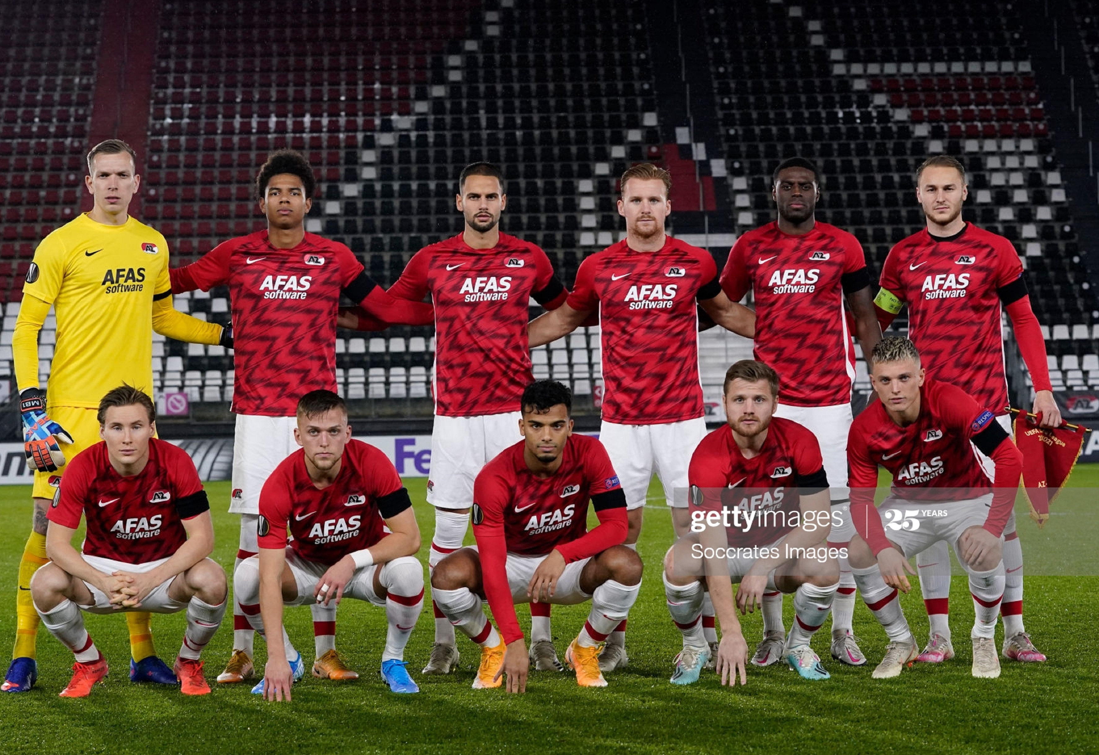 АЗ Алкмаар (Голландия) - Реал Сосьедад (Испания) 0:0