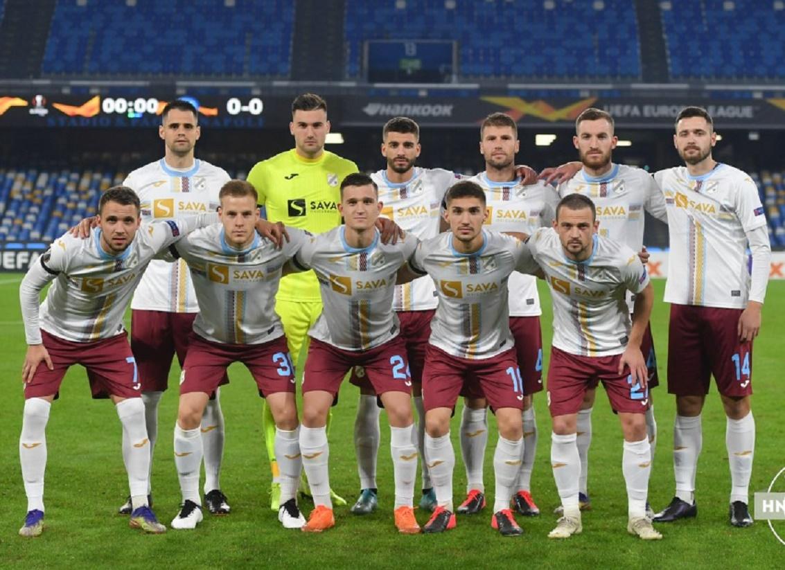 Наполи (Италия) - Риека (Хорватия) 2:0