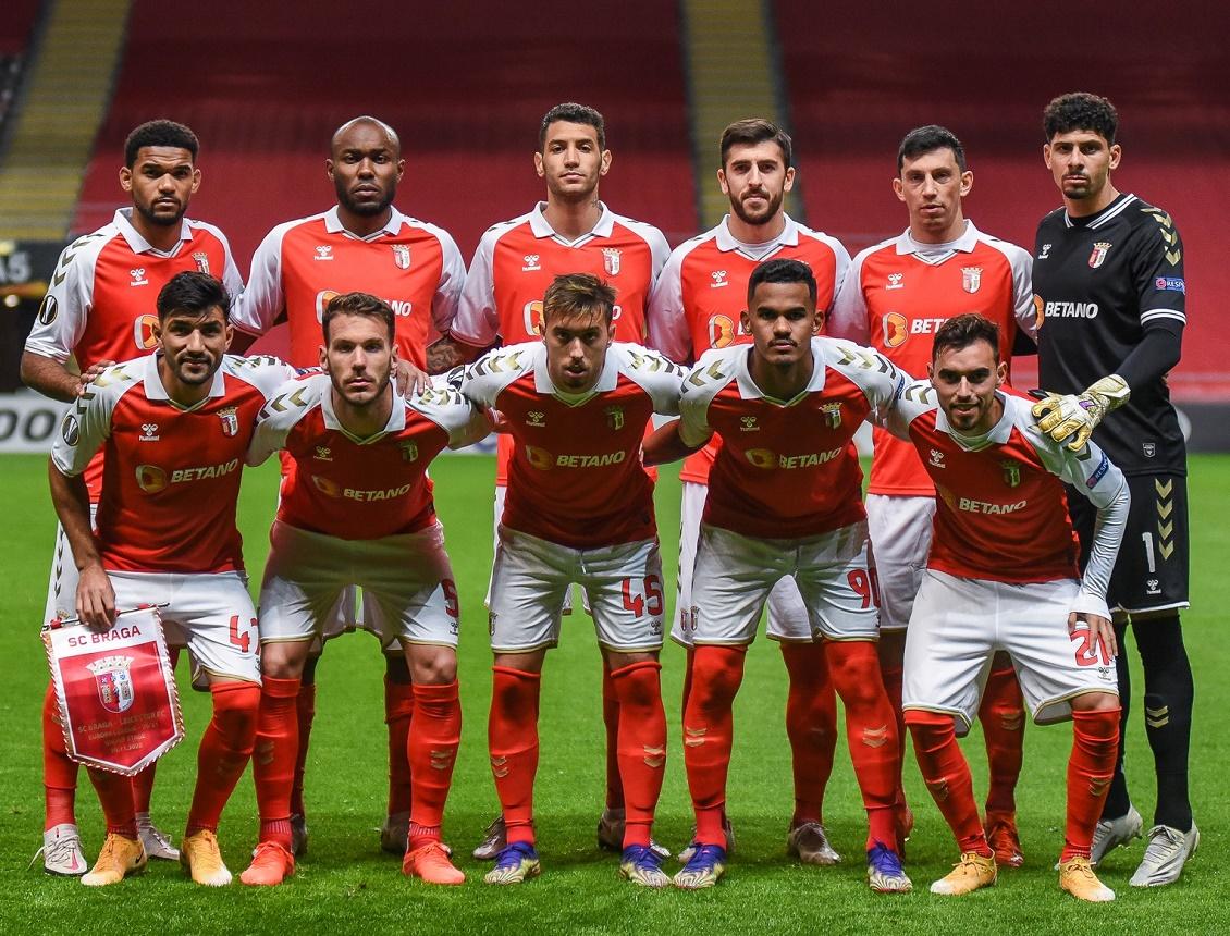 Спортинг Брага (Португалия) - Лестер Сити (Англия) 3:3