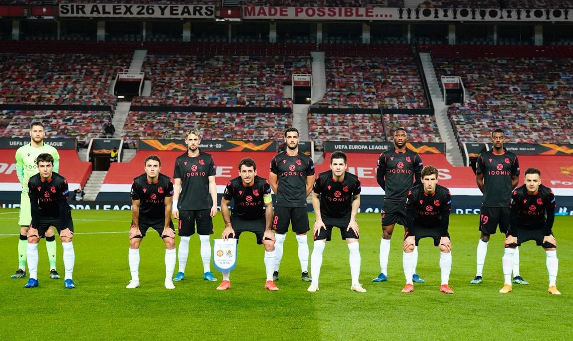 Манчестер Юнайтед (Англия) - Реал Сосьедад (Испания) 0:0