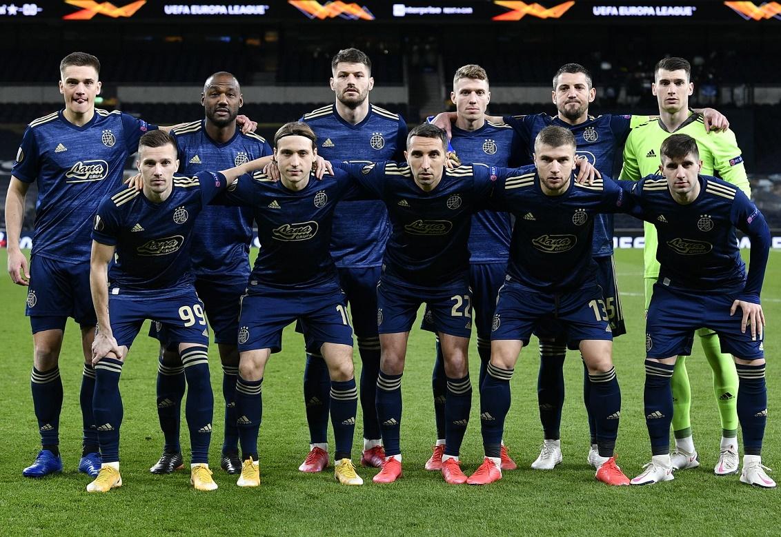 Тоттенхэм (Англия) - Динамо Загреб (Хорватия) 2:0
