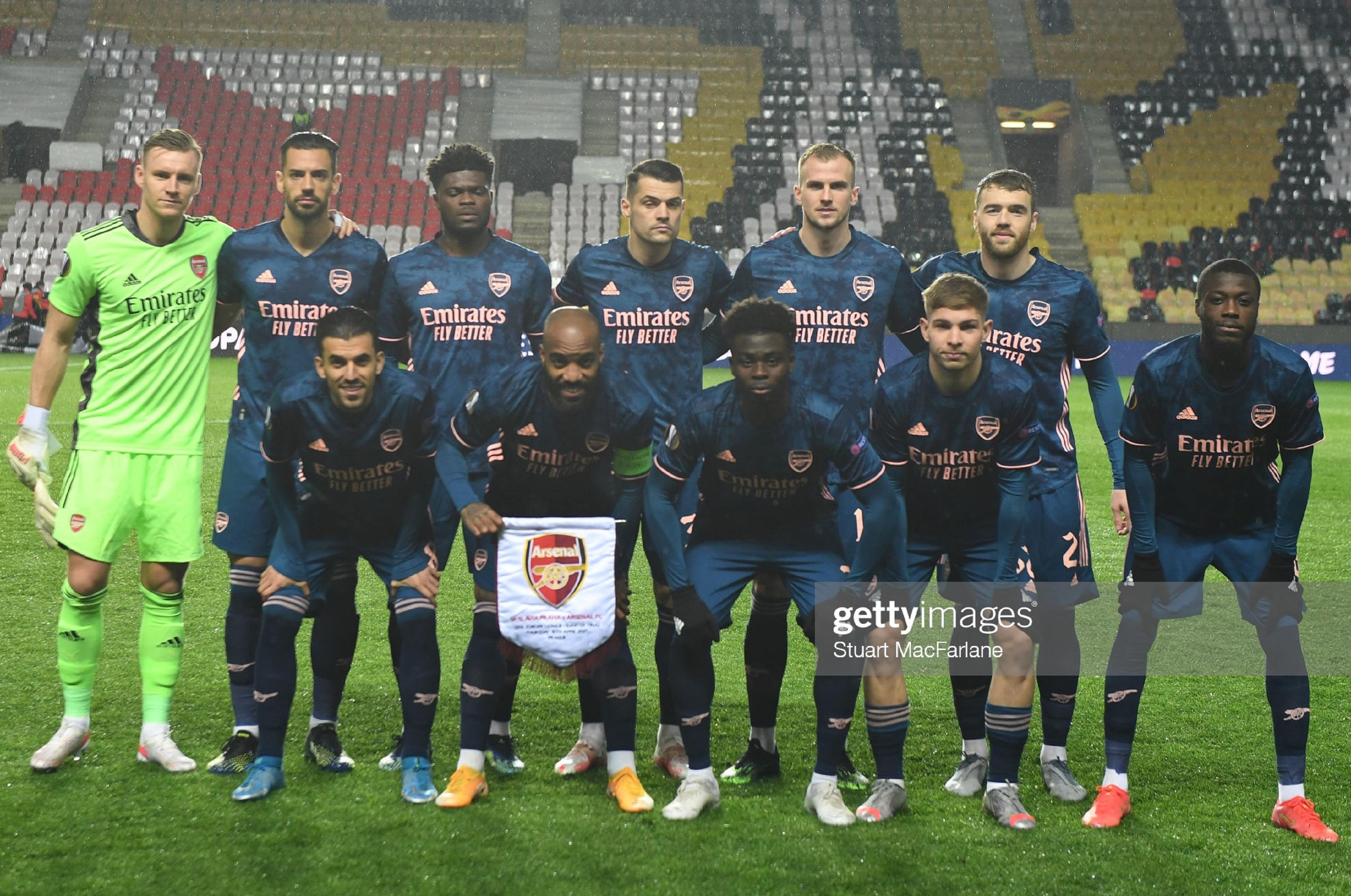 Славия (Чехия) - Арсенал (Англия) 0:4
