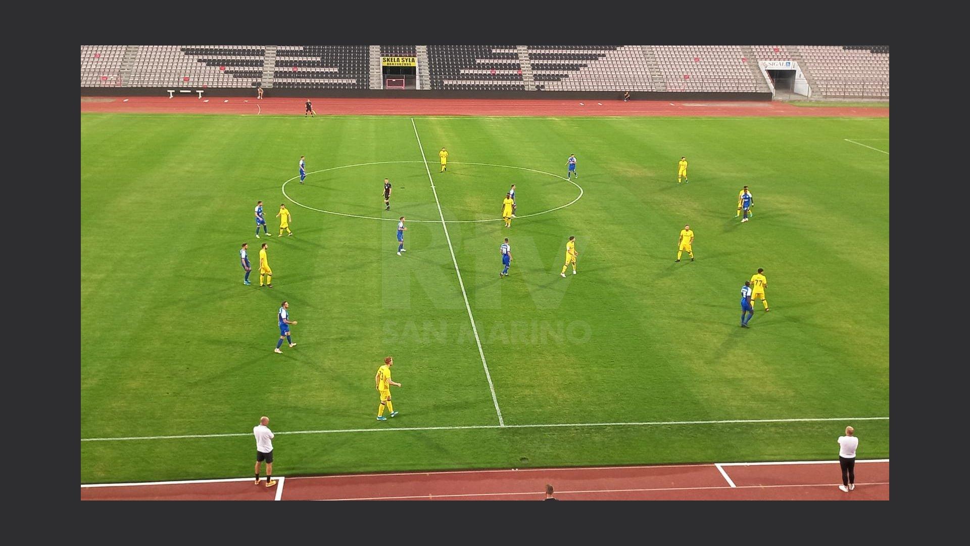 Фольгоре (Сан-Марино) - Приштина (Косово) 0:2
