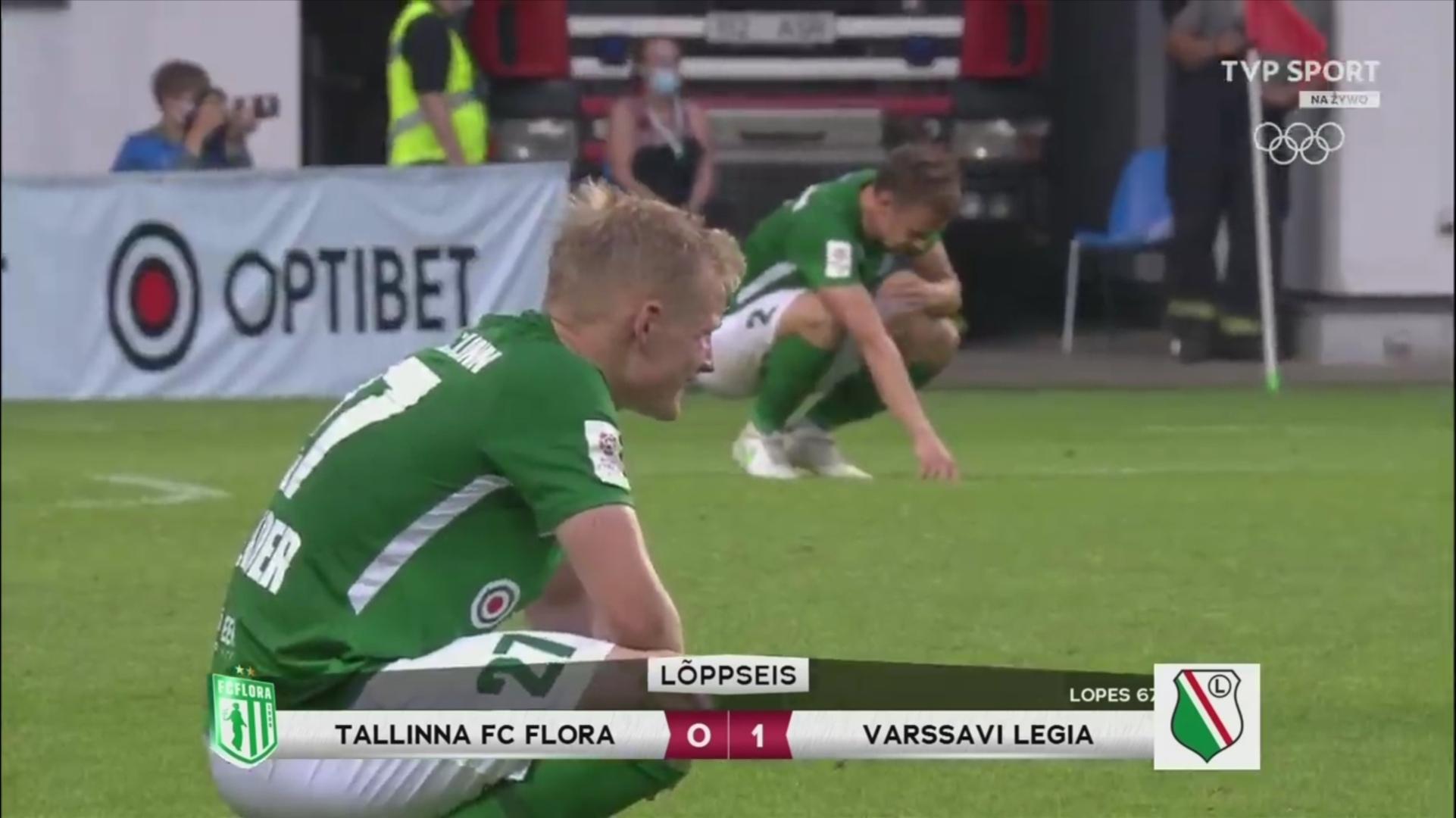 Флора (Эстония) - Легия (Польша) 0:1