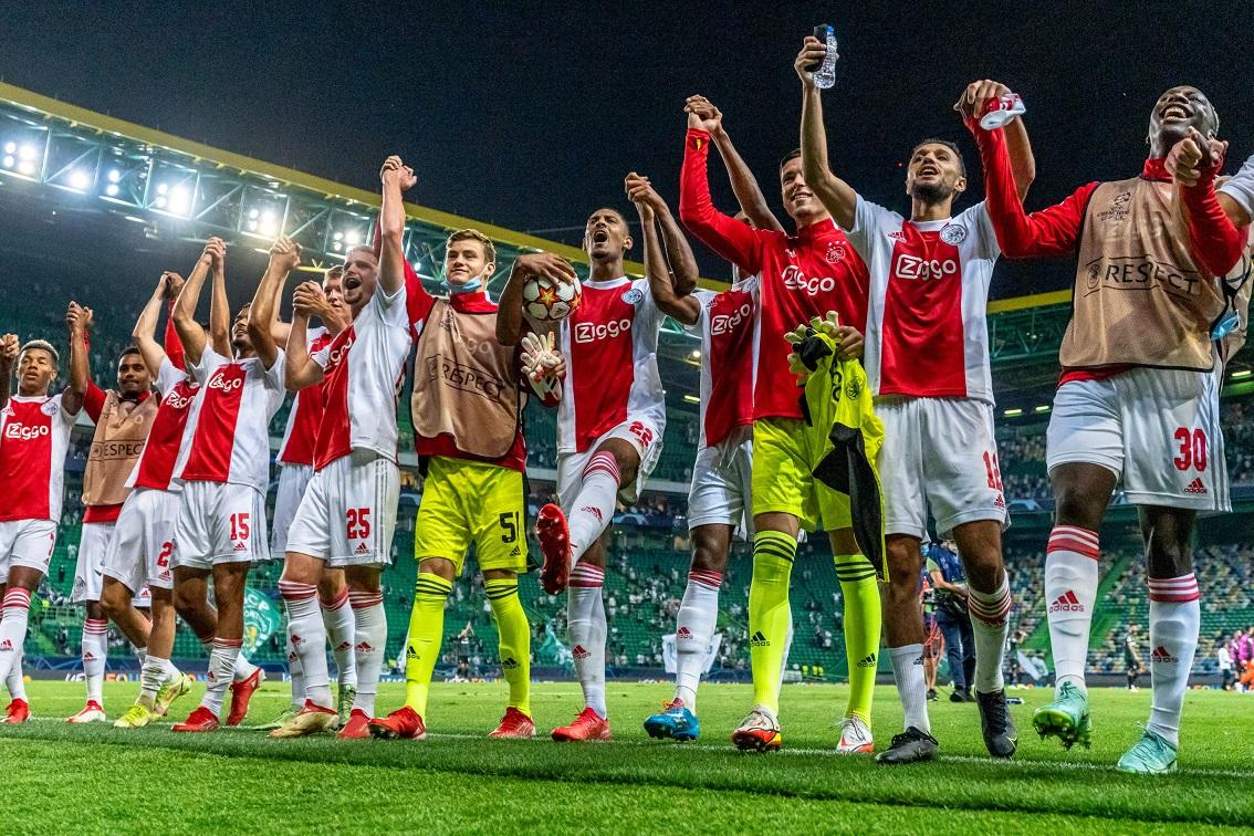 Спортинг Лиссабон (Португалия) - Аякс (Голландия) 1:5