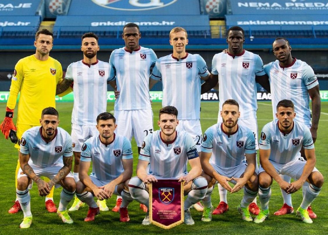 Динамо Загреб (Хорватия) - Вест Хэм (Англия) 0:2