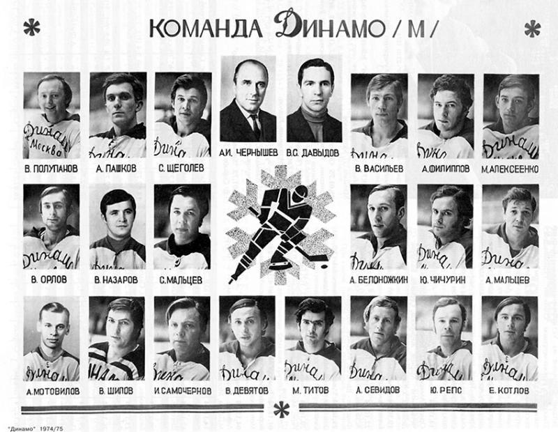 Динамо (Москва) - Динамо (Рига) 7:7. Нажмите, чтобы посмотреть истинный размер рисунка