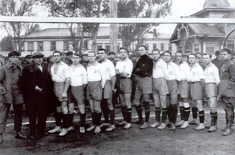 Динамо (Москва) 1924 год