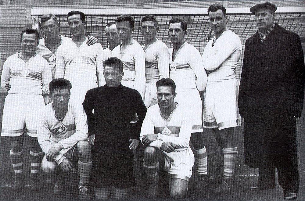 Динамо Москва чемпион 1937