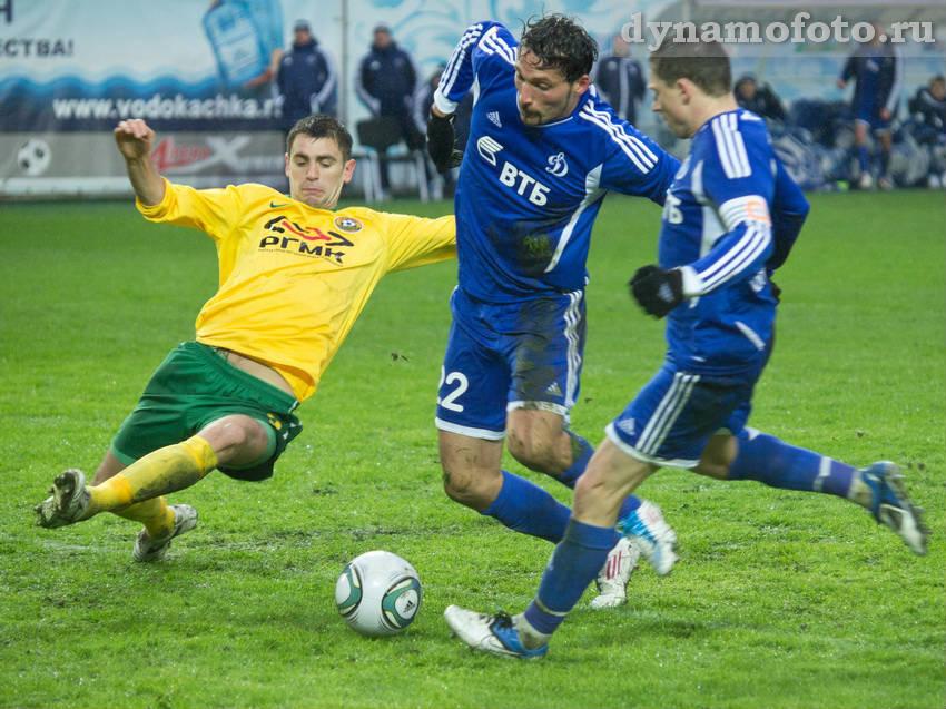 2011 год. 9 апреля. Динамо (Москва) - Кубань (Краснодар) 1:0