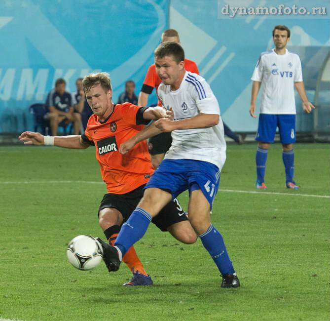 Динамо (Москва) - Данди Юнайтед (Шотландия) 5:0