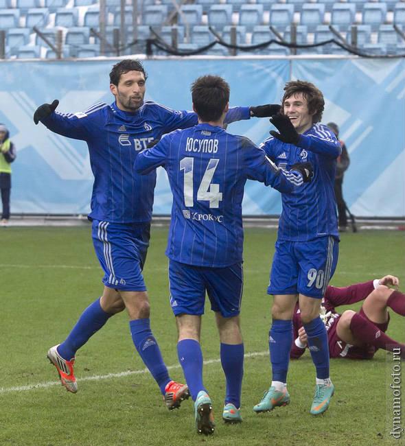 Динамо (Москва) - Рубин (Казань) 3:0