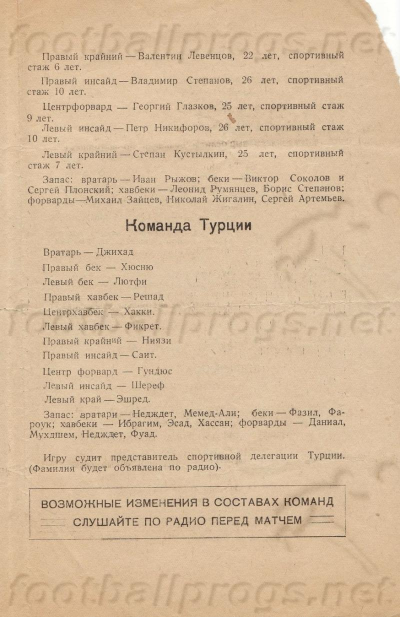 Спартак (Москва) - Сборная народных домов (Турция) 3:1. Нажмите, чтобы посмотреть истинный размер рисунка