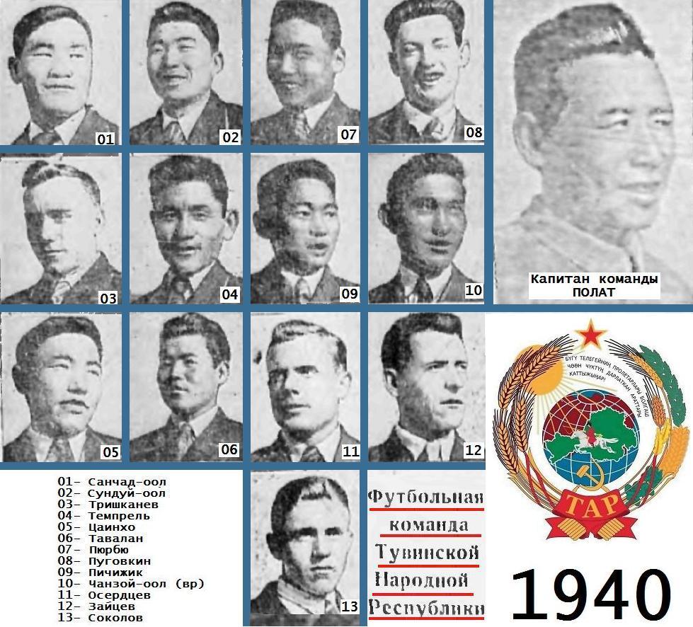 Локомотив (Абакан) - Сборная Тувинской Народной Республики 6:1
