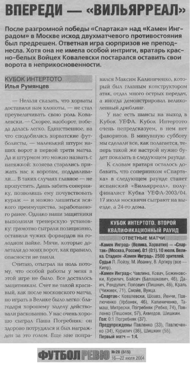 Шинник (Ярославль) - Теплице (Теплице, Чехия) 2:0