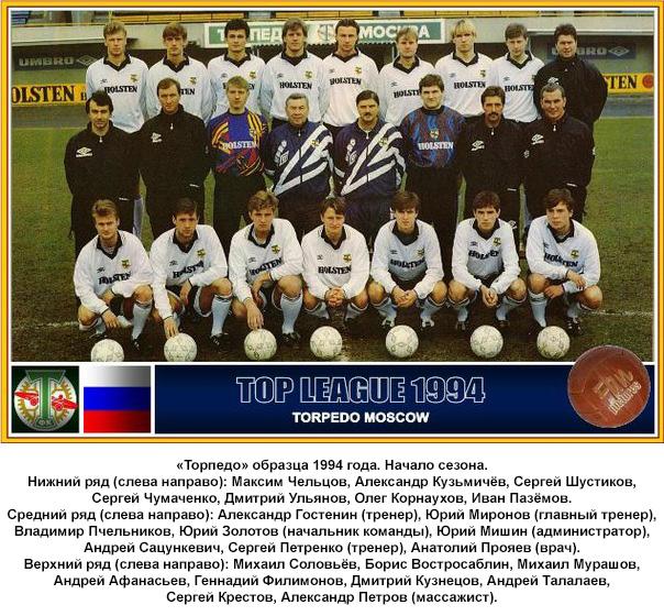 Торпедо (Москва) - 1994