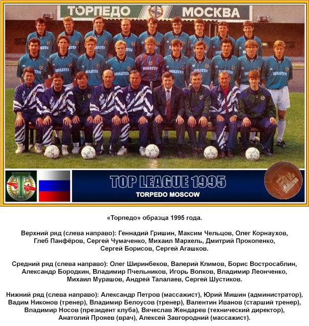 Торпедо (Москва) - 1995
