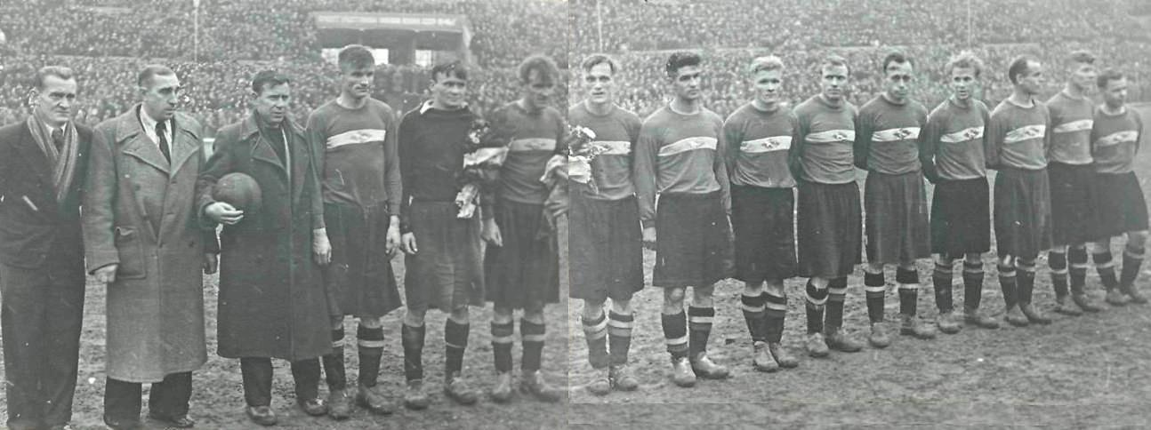 Спартак (Москва) - 1946. Нажмите, чтобы посмотреть истинный размер рисунка