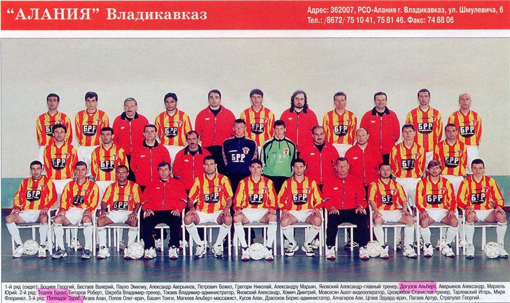 Алания (Владикавказ) - 2001