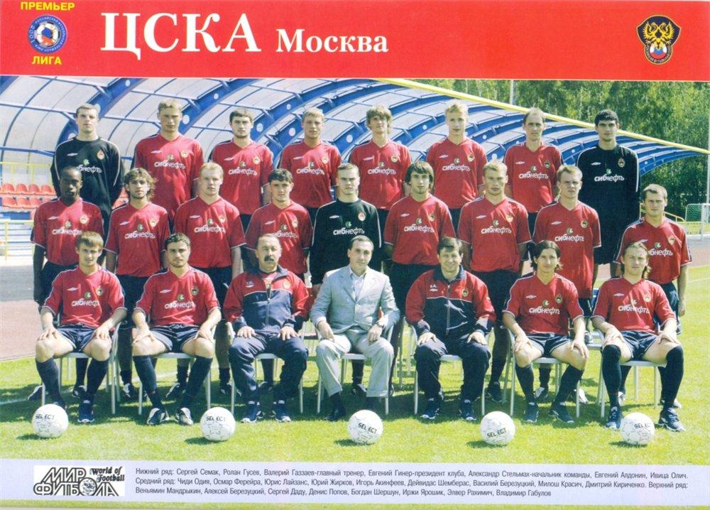 ЦСКА (Москва) - 2004