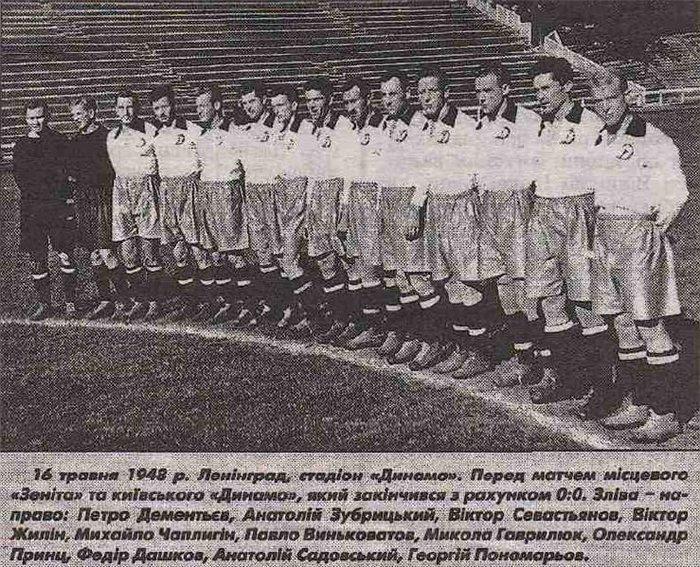 Динамо (Киев) - 1948