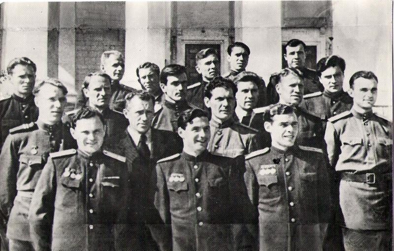 ЦДКА (Москва) - 1950. Нажмите, чтобы посмотреть истинный размер рисунка