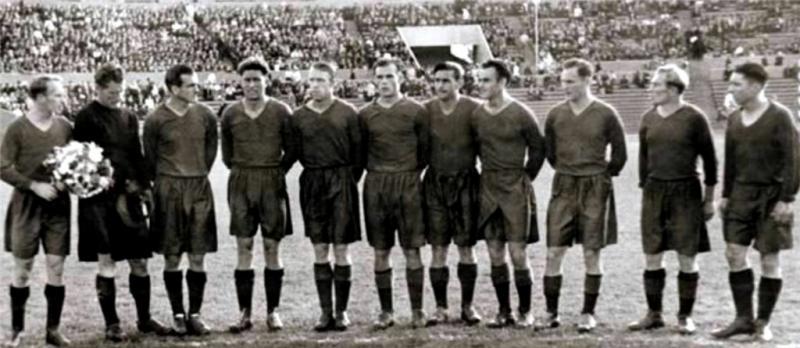 ЦДСА (Москва) - 1951. Нажмите, чтобы посмотреть истинный размер рисунка