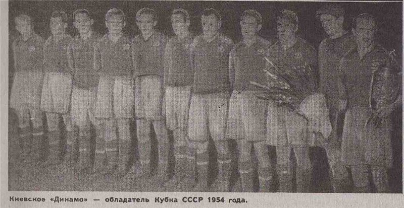 Динамо (Киев) - 1954